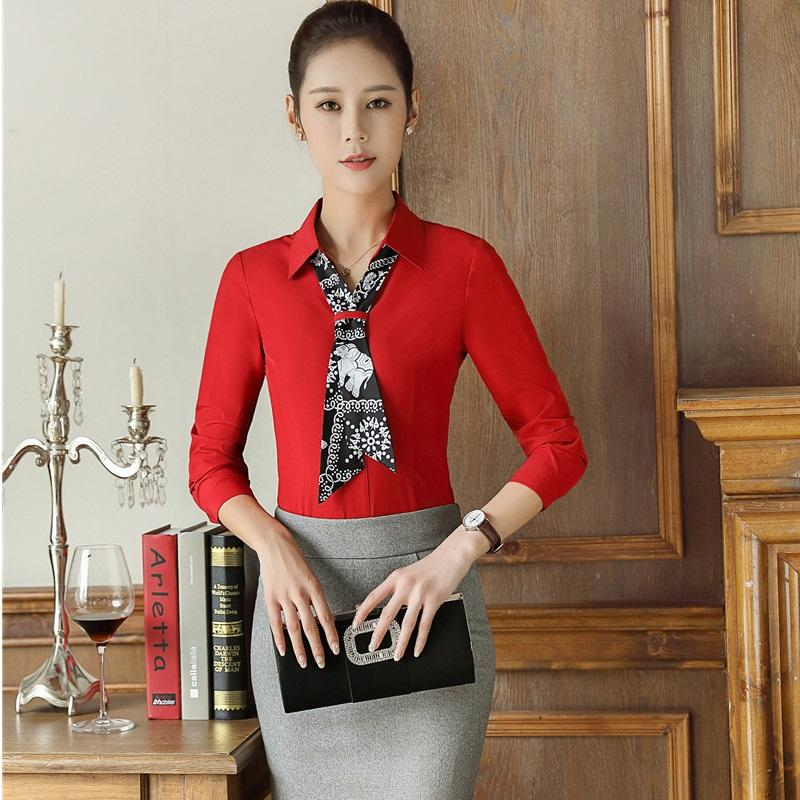 10ce4d491b0 2019 Plus Size 4XL Formal Professional Work Wear Skirt Suits With Tops And  Skirt Office Ladies Blouses Skirts Outfits Red From Aprili