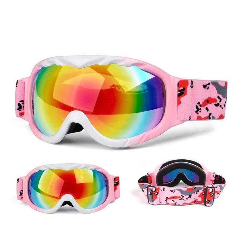 dcdb4c1027 Children Ski Goggles Skiing Eyewear Kids Glasses Snowboarding ...
