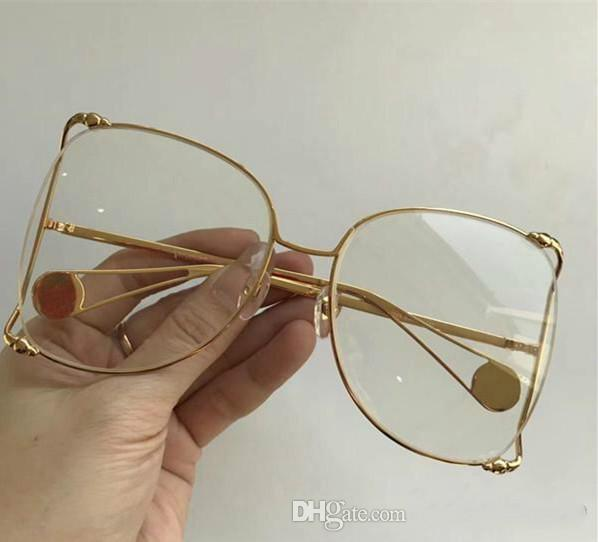 ff1bc2298d7 Luxury 0252 Sunglasses Women Brand Designer Popular Fashion Big Hollow  Frame Summer Style Top Quality UV Protection Lens Come With Case Sunglasses  Online ...