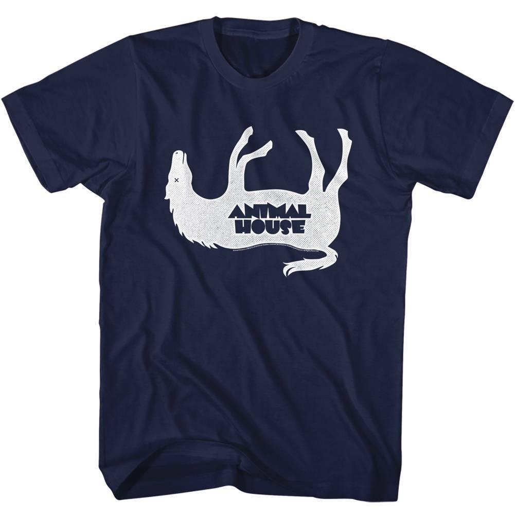 54fb2b033a1 ANIMAL HOUSE Men S Short Sleeve T Shirt NAVY HORSEY Cool Casual Pride T  Shirt Men Unisex Fashion Tshirt Funny Tops Online T Shirt Shopping Print On T  Shirt ...