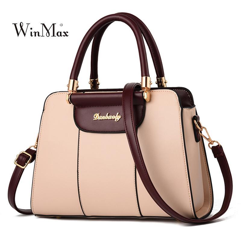 9f51ea4ff270 New Women Leather Handbag Luxury Shoulder Bag Designer Tote Bag Ladies  Messenger Crossbody Bags For Women 2018 Bolsas Female Sac Shoulder Bags For  Men ...
