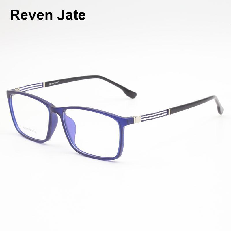 86dad4651c Reven Jate X2006 Acetate Full Rim Flexible High Quality Eyeglasses ...