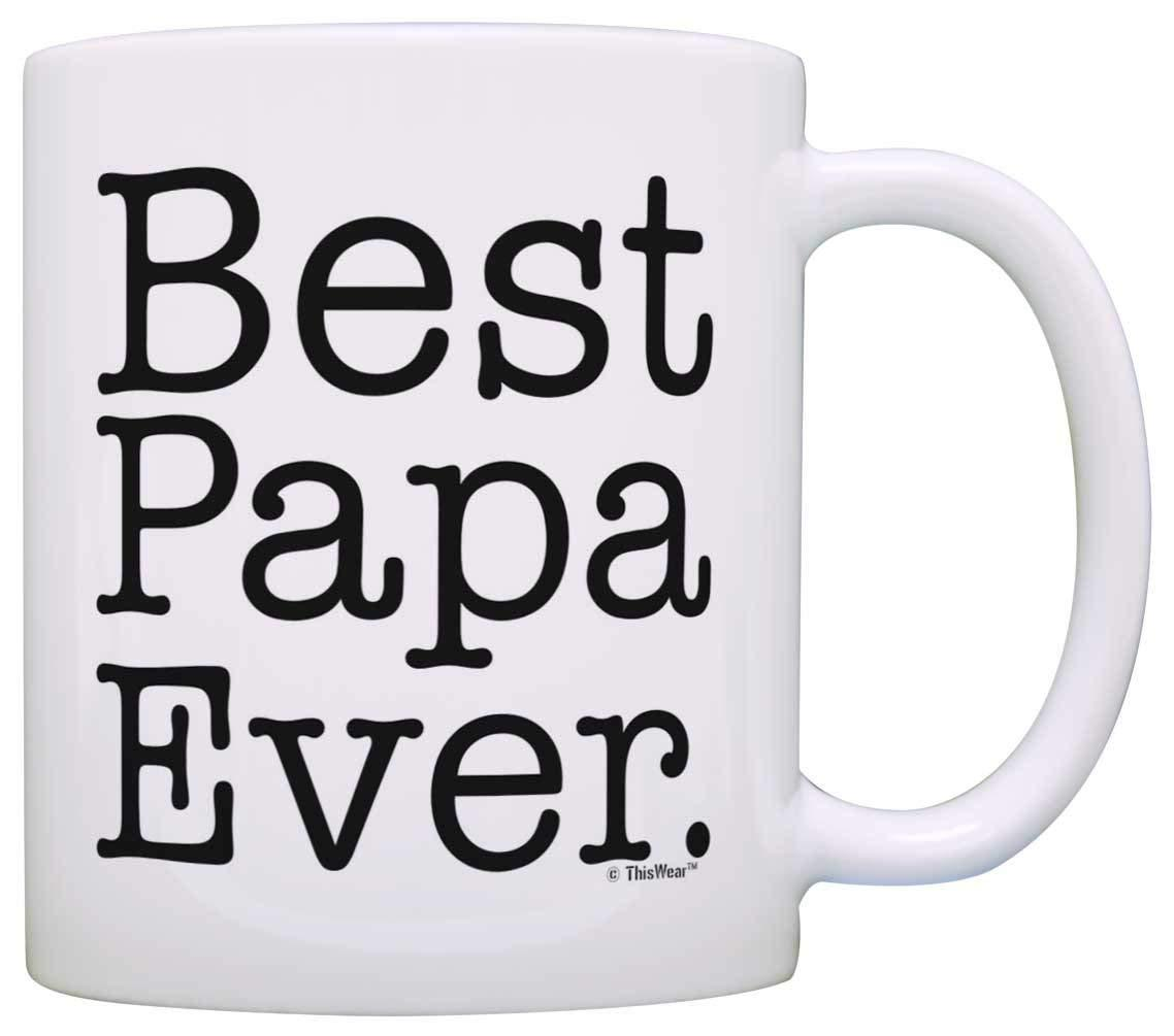 FatherS Day Gift Best Papa Ever Birthday Coffee Mug Tea Cup White Traveling Mugs Travelling From Autobots1684 1407