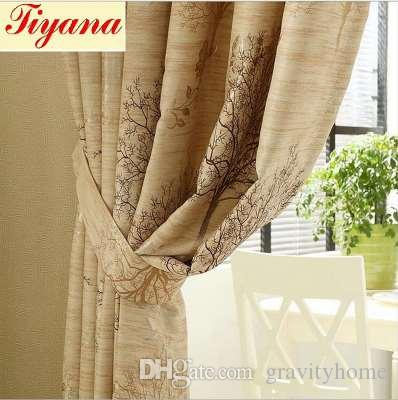 2018 Wedding Blackout Curtains Fl Tulle Curtain For Living Room Door Decoration Pink Window Treatment Panel Hot Su277 30 From Gravityhome
