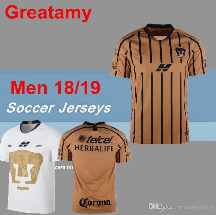 adbe3c4a9b 2018 2019 MEXICO Club NEW UNAM Club Universidad Nacional Van Rankin ...