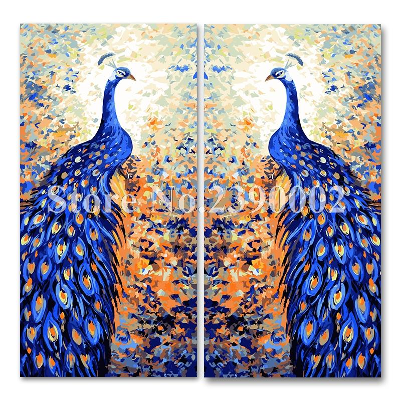 2019 Home Decor Peacock 5D Diy Diamond Painting Oil Picture Full Mosaic Decoration Embroidery Wall Sticker From Suozhi1996