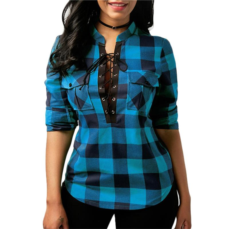 Plus Size 18-28 Womens Casual Plaid Shirt Jacket Hooded Button Up Coat Tops