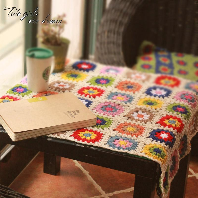 Großhandel Diy Häkeln Tischsets Handmade Kissen Teppich Hand Süchtig