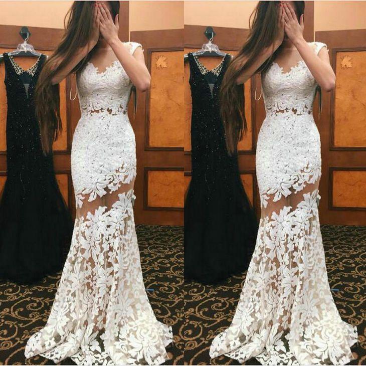 Wedding Dress Plus Size Wedding Dresses White Floor Bength Lace