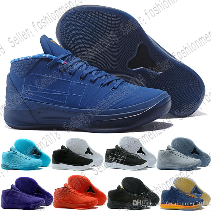 3ee36a89a ... 2019 with box kobe bryant 13 men red basketball shoes navy blue zoom  kb13 a.d. nxt