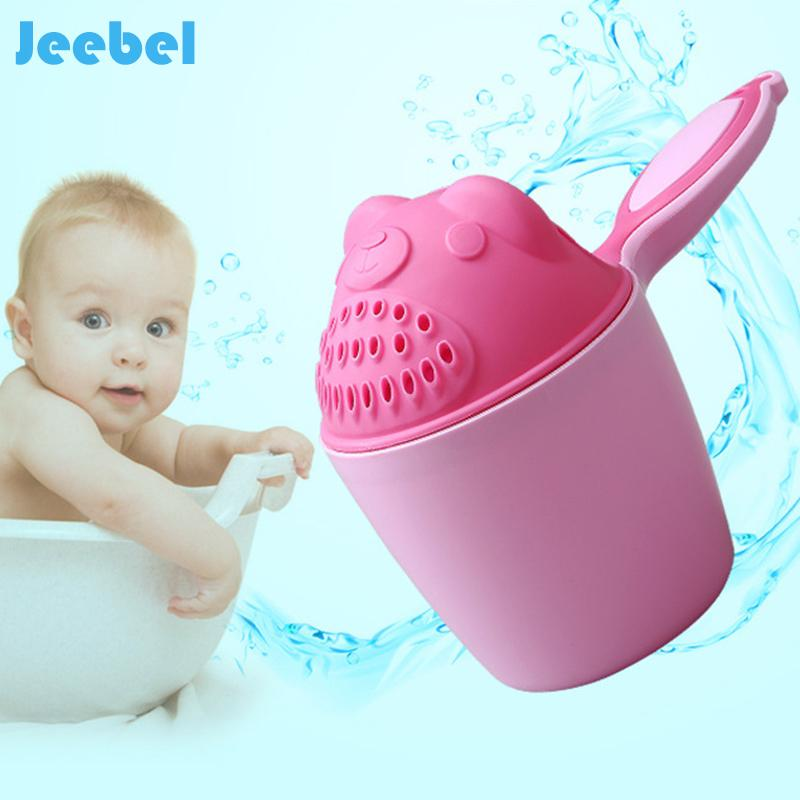 2018 Jeeble Baby Bathing Cup Kids Cartoon Bear Baby Shower Shampoo ...