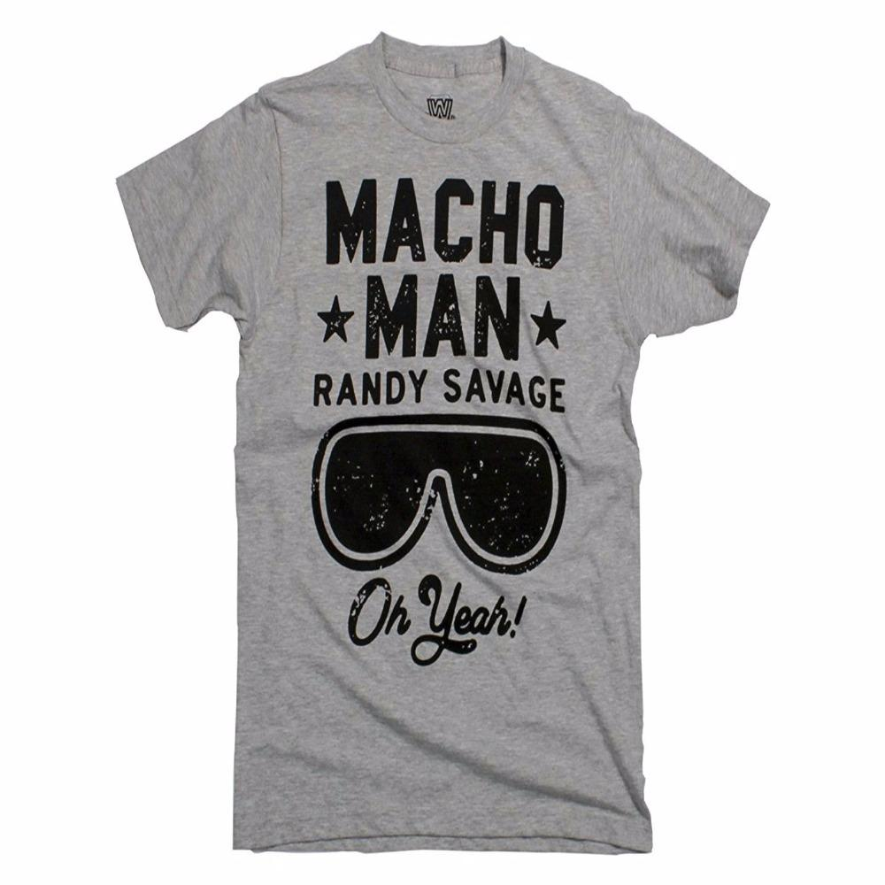69058589 T Shirt Printing Online Crew Neck Men Macho Man Randy Savage Oh Yeah Adult T  Shirt Short Sleeve Top T Shirt Cool Tee Shirts Cool Tees From Teeplaza, ...