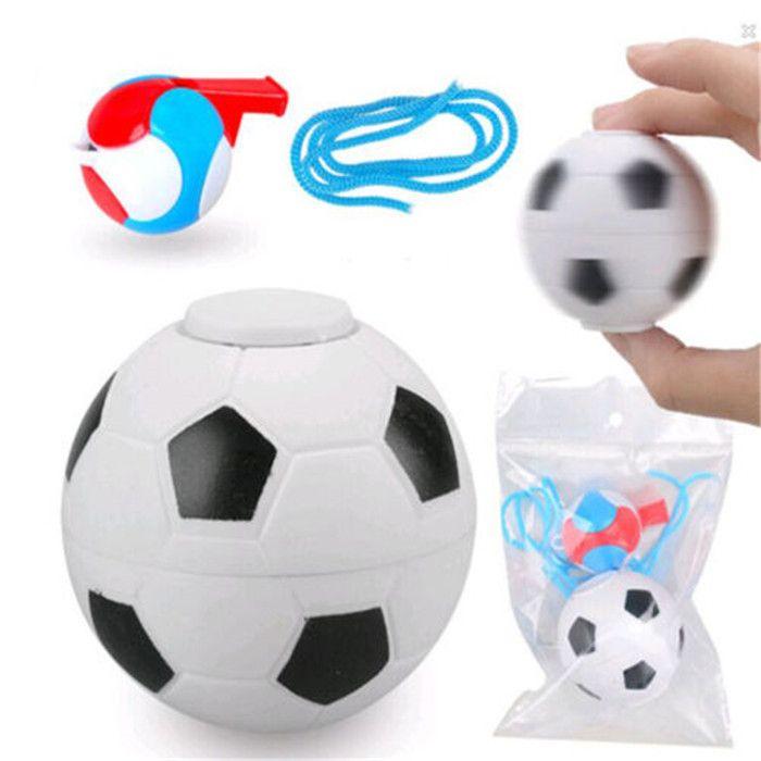 Envío Gratis Mini Baloncesto Balompié Silbato Fidget Spinner Mano Spinner Cubo Anti Estrés Bola de Juguete Adulto Finger Spinner Regalo
