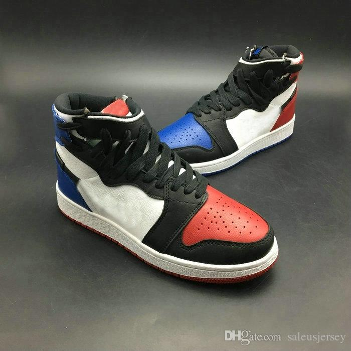2018 New 1 REBEL XX OG TOP 3 Women Men Kids Basketball Shoes High Quality 1s  Top Three White Red Blue Youths Big Boys Sports Sneakers The Best Shoes For  ... f2fbca8a2a