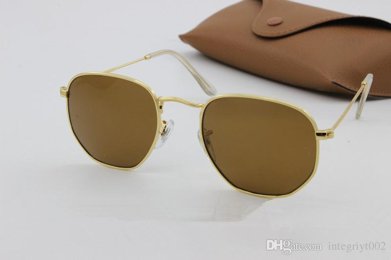 2018 classHot Deals High Quality UV400 Gothic Steampunk Mens Sunglasses Coating Mirrored Sunglasses Round Circle Sun glasses Retro Vintage G