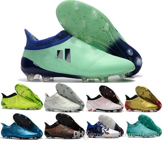 453dc05fd New Tops Mens X Ace 17+ Purecontrol FG Soccer Cleats Turf Purespeed ...