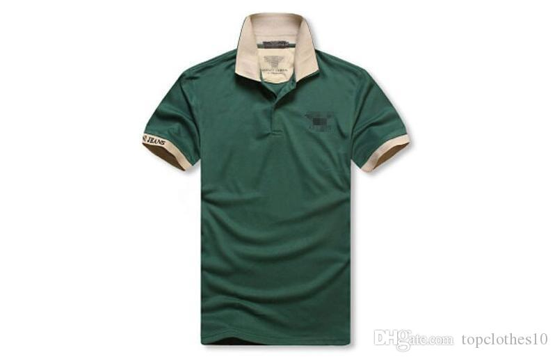Compre Camisas Al Por Menor Para Los Hombres Camisa De Poloshirt De ...
