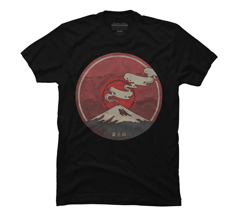 bff33465fdb Fuji Men'S Graphic T Shirt Hip Hop Clothing Cotton Short Sleeve T Shirt Top Tee  Mens T Shirts Fashion 2018 For Men Plus Size Coolest T Shirts T Shirt Cool  ...