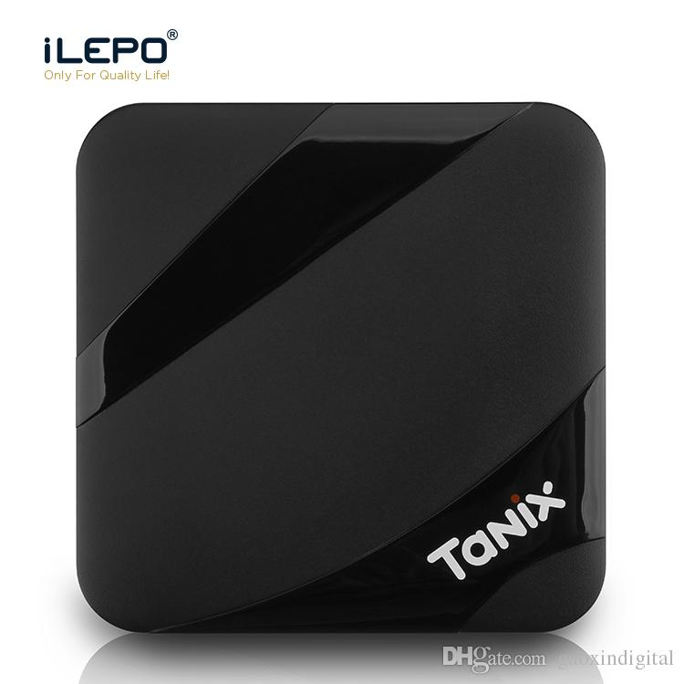TV Box Android 7 1 Tanix TX3 MAX 2GB 16GB Amlogic S905W Smart TV Box 1080P  Youtube Netflix HBO movie play 4K ultra smart tv streaming boxes