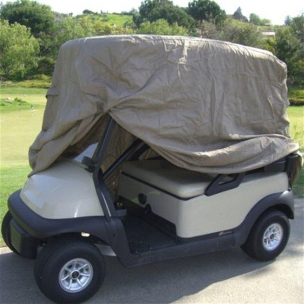 Waterproof Golf Cart Storage Cover Zipper Car Detector Golf Cart Storage  Cover For EZ Go Club Car for 4 Passengers Club