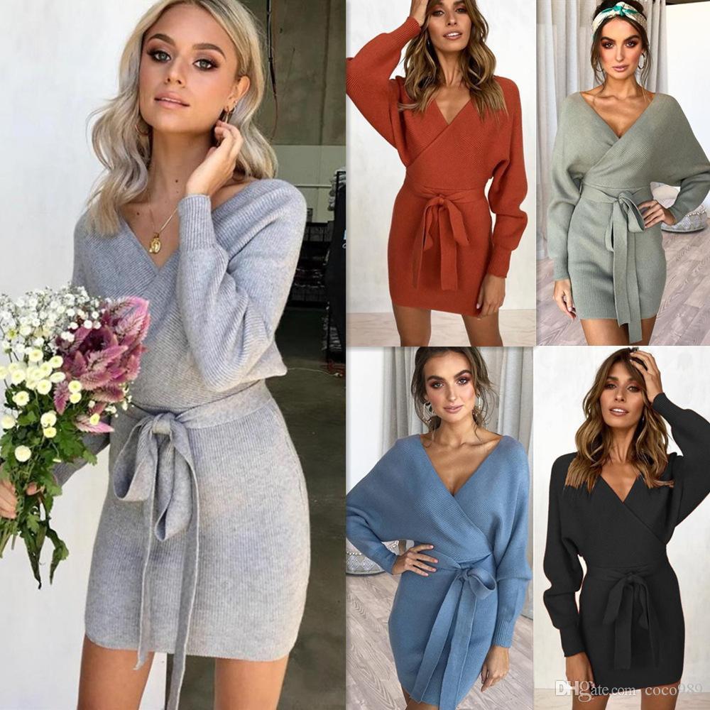Dress Bottom Skirt Winter Knitted Shirt Sexy Bag Buttocks Keep Warm ... 0a73118f0084