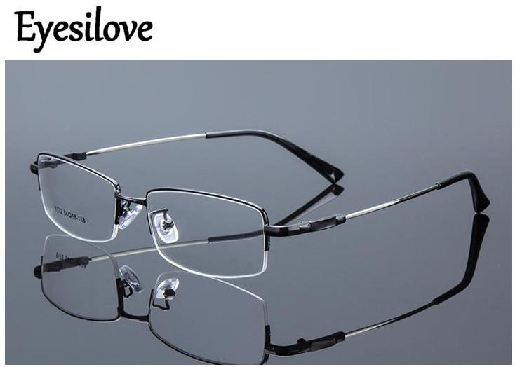 c03b23a64d 2019 Eyesilove Metal Finished Myopia Glasses Nearsighted Glasses  Prescription For Men Women Eyewear Diopter From 1.0 To 6.0 From Haydena
