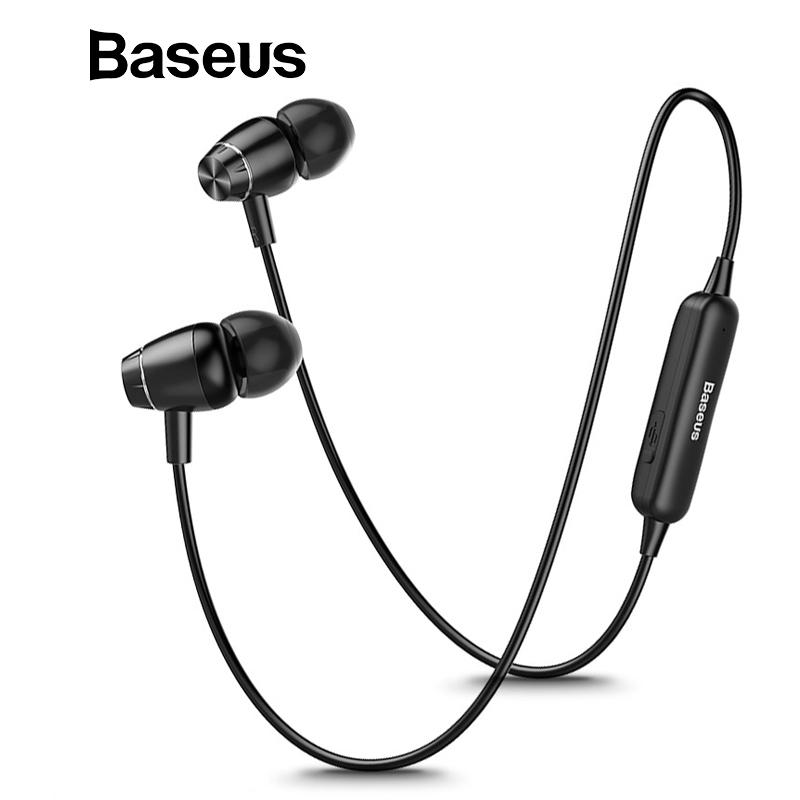baseus s09 bluetooth earphone wireless headphone magnet earbuds with Plantronics Phone Headsets for Office baseus s09 bluetooth earphone wireless headphone magnet earbuds with microphone stereo auriculares bluetooth earpiece for phone telephone wireless headset