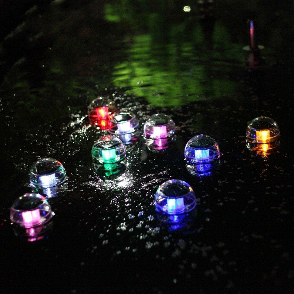 Solar Landscape Light Water Drifting Floating Light Colorful White Lighting For Indoor And Outdoor Holiday Yard Outdoor Lighting