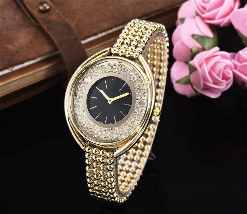 f31a59938d4 2019 New Fashion Style Women Watch Full Diamond Lady Steel Chain WristWatch  Luxury Quartz Clock High Quality Leisure Fashion Designer Watch Buy Watch  Watch ...
