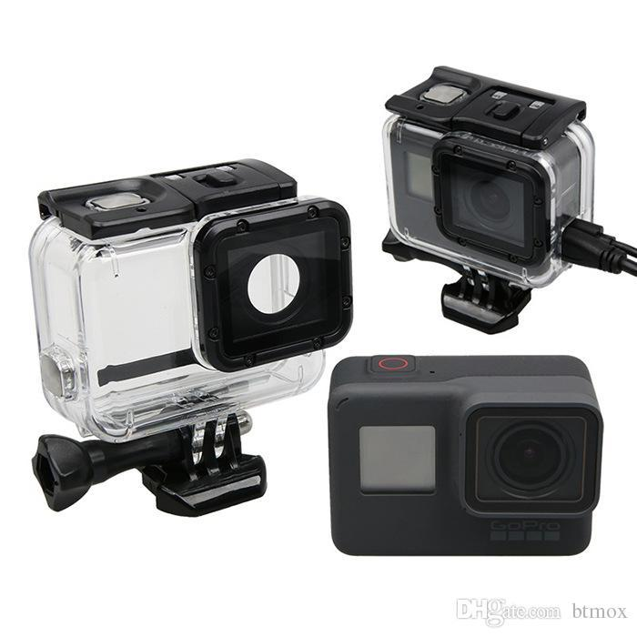 Go Pro Housing Mount Lateral Protection Shell Protective Frame Case ... ea6115cb21