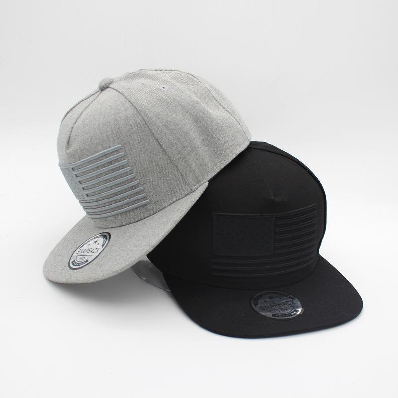 a18098874d8 Hot Men Baseball Snapback Cap USA Flag 3D Embroidery Hat Sports Sun Visor  Hats Hip Hop Popular Hats Flat Bill Hat Fashion Couple Hat Baseball Caps  For Women ...