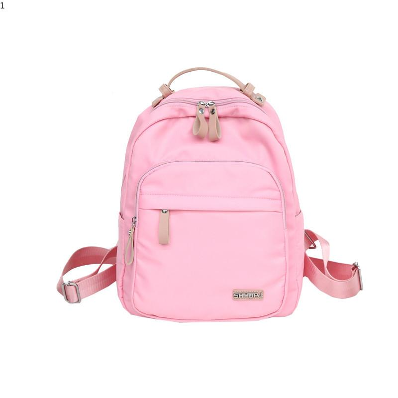 High Quality Waterproof Nylon Backpack Fashion Woman L Fashion ... 1bfe107c87f62