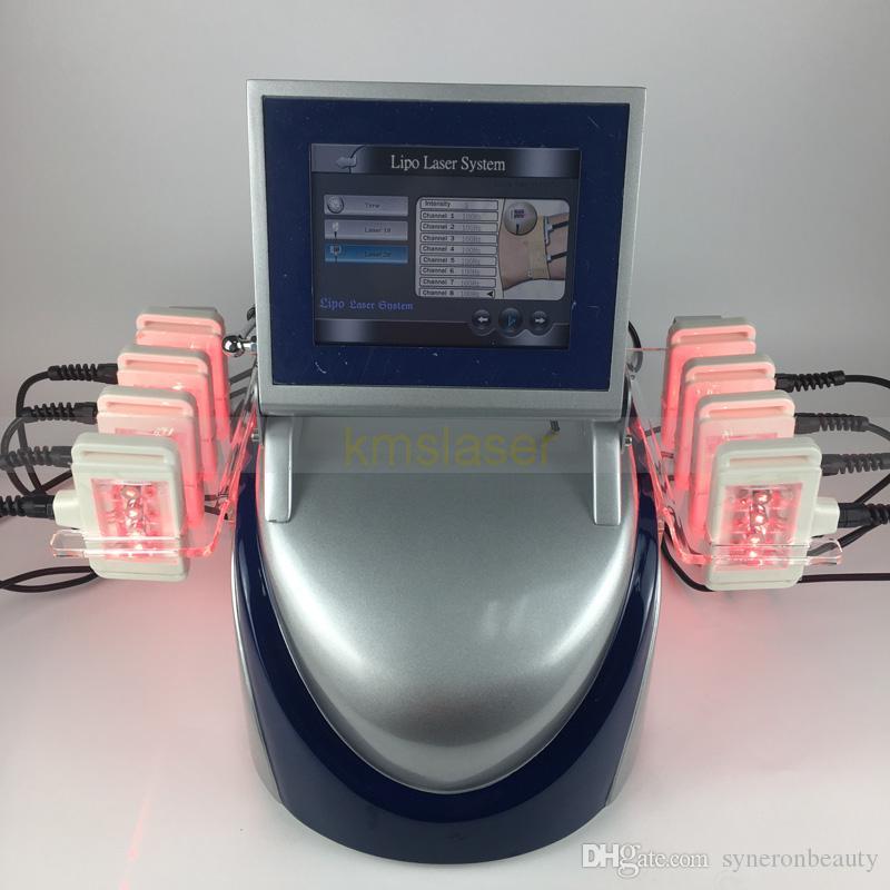 Lipolaser de 160mw que adelgaza el removedor de grasa LIPO láser pierde la máquina de peso