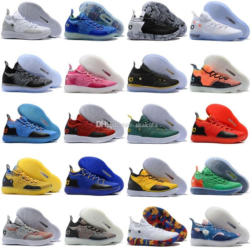 fcf646a04525 Cheap KD 11 EP Elite Basketball Shoes KD 11s Men Multicolor Peach Jam Mens  Doernbecher Trainers Kevin Durant 10 EYBL All Star BHM Sneakers Jordans  Sneakers ...