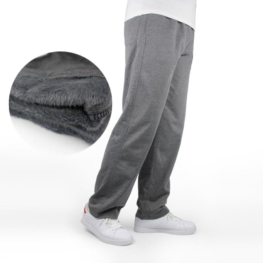 679b793dd0 Compre 7xl Hombres Pantalones De Chándal De Invierno Cálido Pantalones  Gruesos Pantalones Gruesos De Cintura Elástica De Algodón Pantalones  Casuales ...