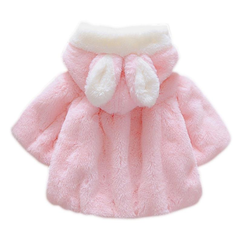 6d66bdd6e3da New Baby Girl Jackets 2018 Winter Outerwear Velour Fabric Garment Lovely  Bow Coat For Baby Girls Kids Clothes Clothing Leather Jackets For Kids Boys  Winter ...