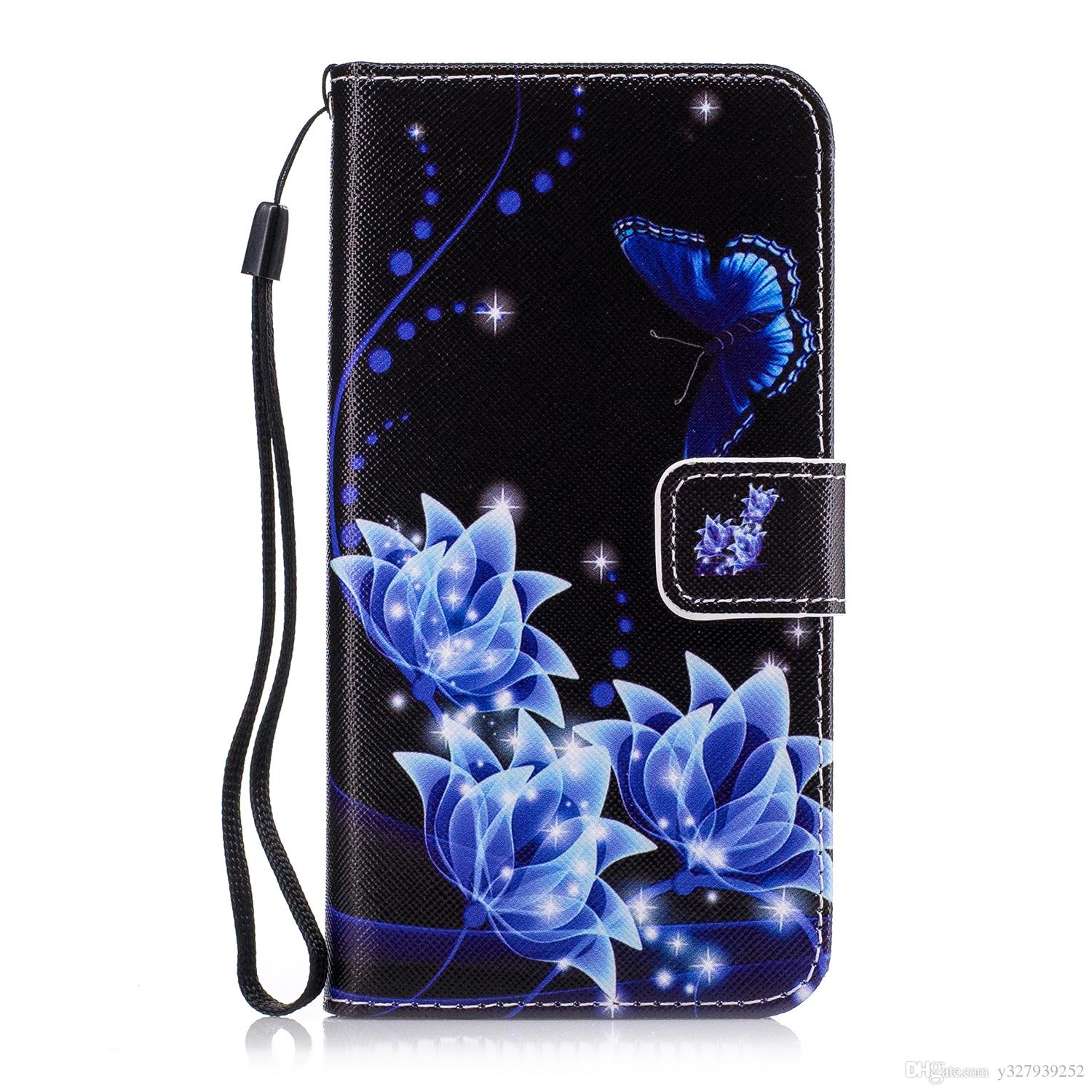 Case For Xiaomi Redmi 4a 4 A Redmi4a Wallet Card Slot Luxury Painted Flip Phone Leather Cover For Xiaomi Redmi A4 Red Mi 4a Redmi4 A Cell Phone Cases Cheap