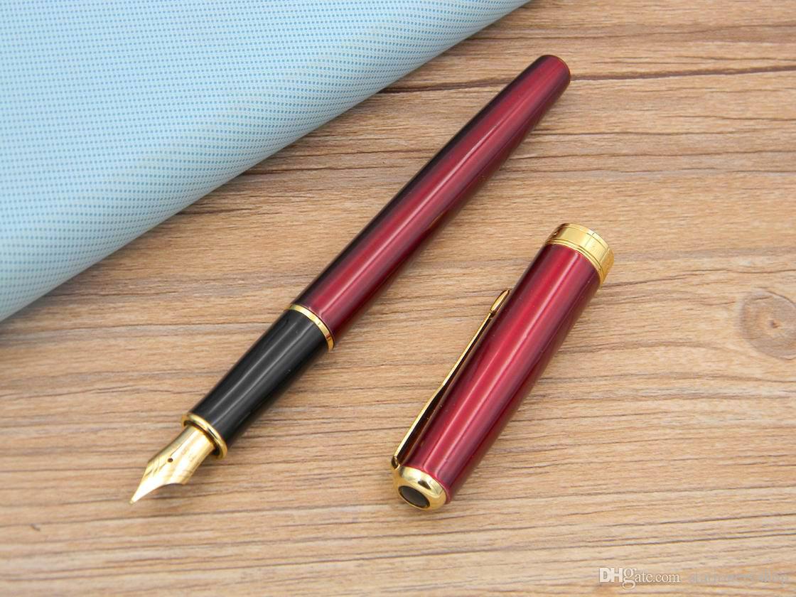 Parker Sonnet Series office Escritura Negocio golden Supplies Regalo Metal Fountain Pen