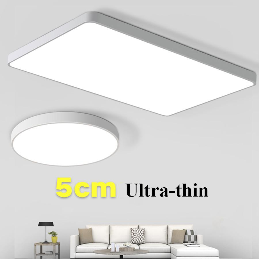 cheap ceiling lighting modern thrisdar 12w 24w 36w modern led ceiling light 5cm thin panel bedroom kitchen surface mounted lights cheap