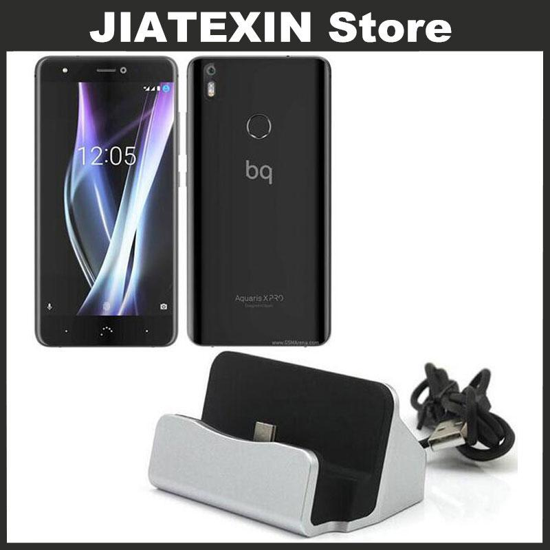JIATEXIN Desktop Data Sync Type-C USB Cable Dock Charger Station For BQ  Aquaris X/X Pro Type USB -C Charging Adapter
