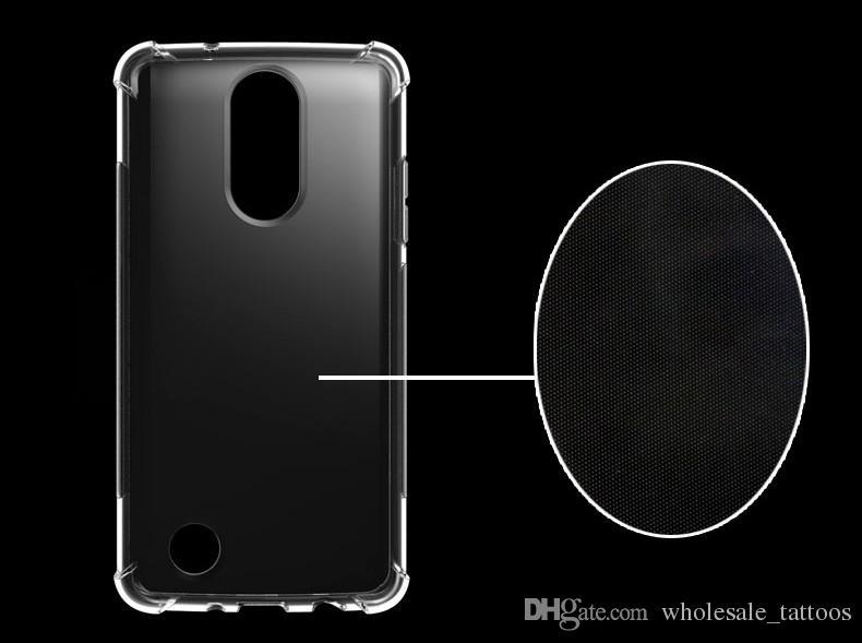 1 2mm Shockproof Soft Transparent Clear TPU Cover Case For LG LV5 V5 K20  Plus K20 V Harmony Grace LG LV3 Aristo Fortune Phoenix 3 Rebel 2