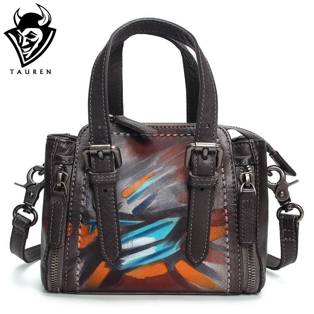 a746e2866a70c Großhandel Tasche Handgefertigte Aus Leder Hohe Handtaschen Frauen qUSMVzp