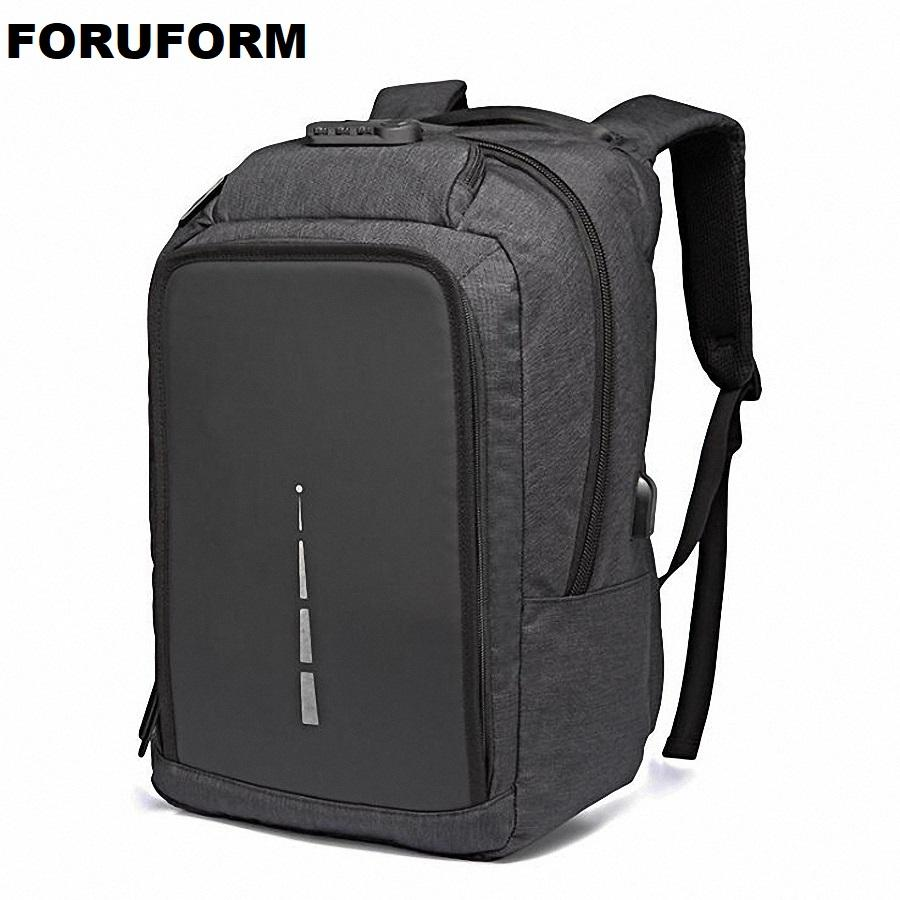 3ff9a666e Compre Carga USB Mochila Antirrobo Para Hombres 15 Pulgadas Laptop Mochilas  Para Hombre Moda Duffel De Viaje Mochilas Escolares Bagpack Sac A Dos  Mochila A ...