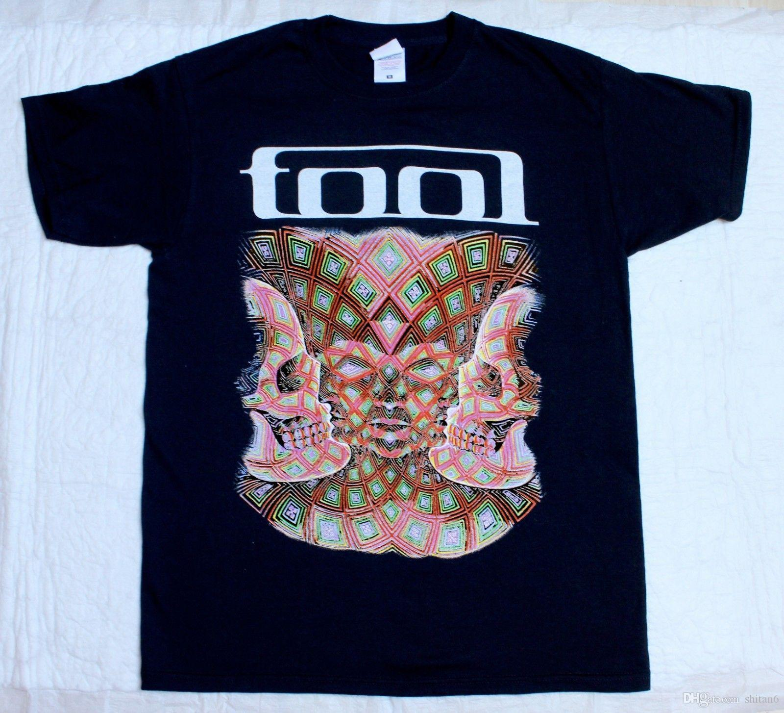 Tool Band Alternative Progressive Metal Short Long Sleeve New Black