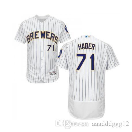 a8a12fc47 2019 Milwaukee Brewers  71 Josh Hader Lorenzo Cain Jerseys From  Aaadddggg12