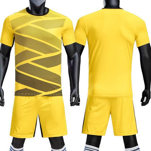 c22b8e2f5ed Survetement Football 2018 Boys Men Soccer Jerseys Uniform Blank Football  Jerseys Sets Quick Dry Soccer Team Training Suits Print Canada 2019 From  Luishen01
