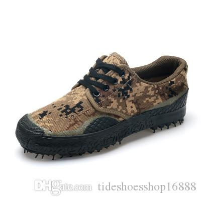 fd12a6ce Compre Botas Del Ejército De Toda La Temporada Para Hombre Zapatos De Lona  Para Hombre Zapatos De Trabajo Del Camuflaje Zapatos De Seguridad Militar  Botas ...
