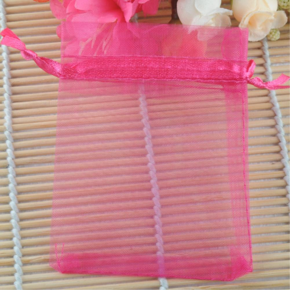 Mix Colors 9*12mm Small Organza Bags Favor Wedding Christmas Gift ...