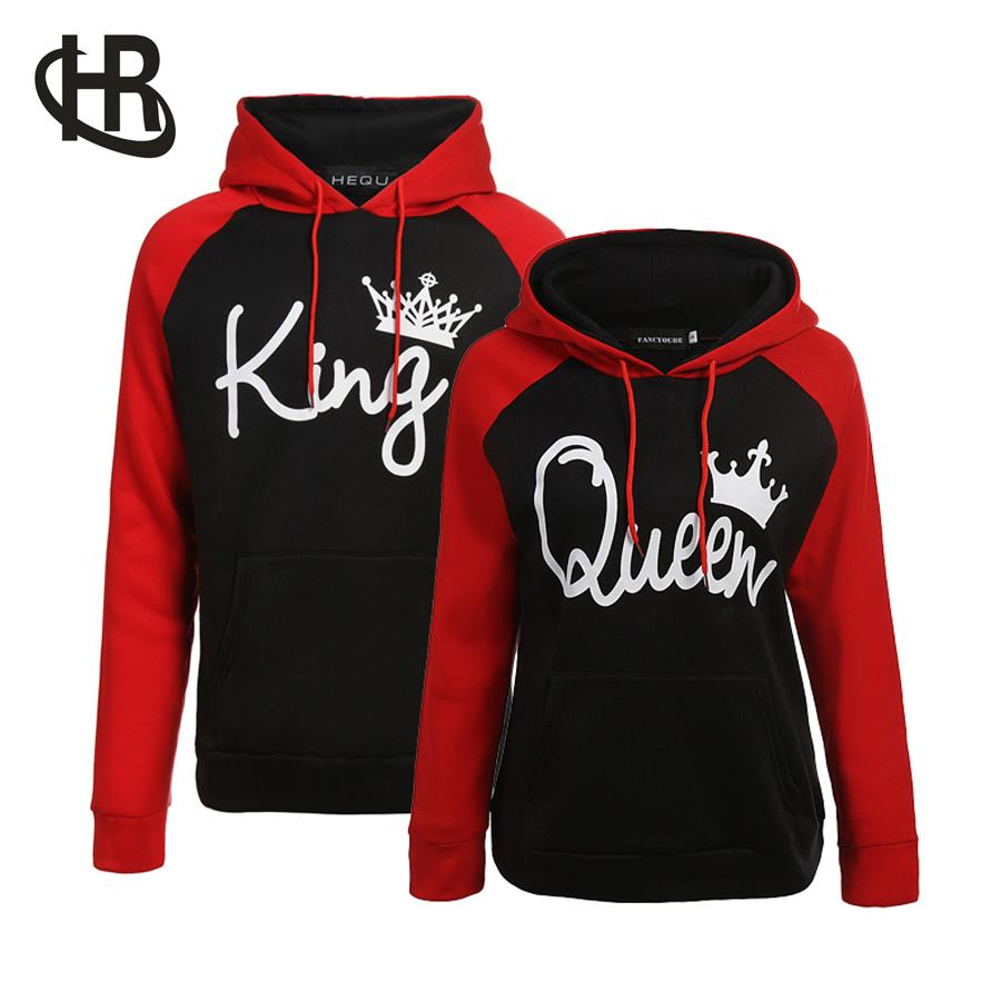 f3c48ae593 Couple Hoodie - King And Queen His And Hers - New Design Couple ...