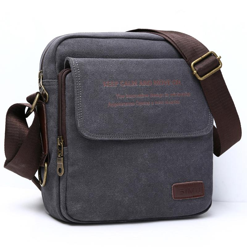 Man Urban Daily Carry Bag High Quality Men Canvas Shoulder Bag Casual Travel  Men S Crossbody Male Messenger Bags 3 Size Purses Designer Handbags From ... e94cc66698fbb